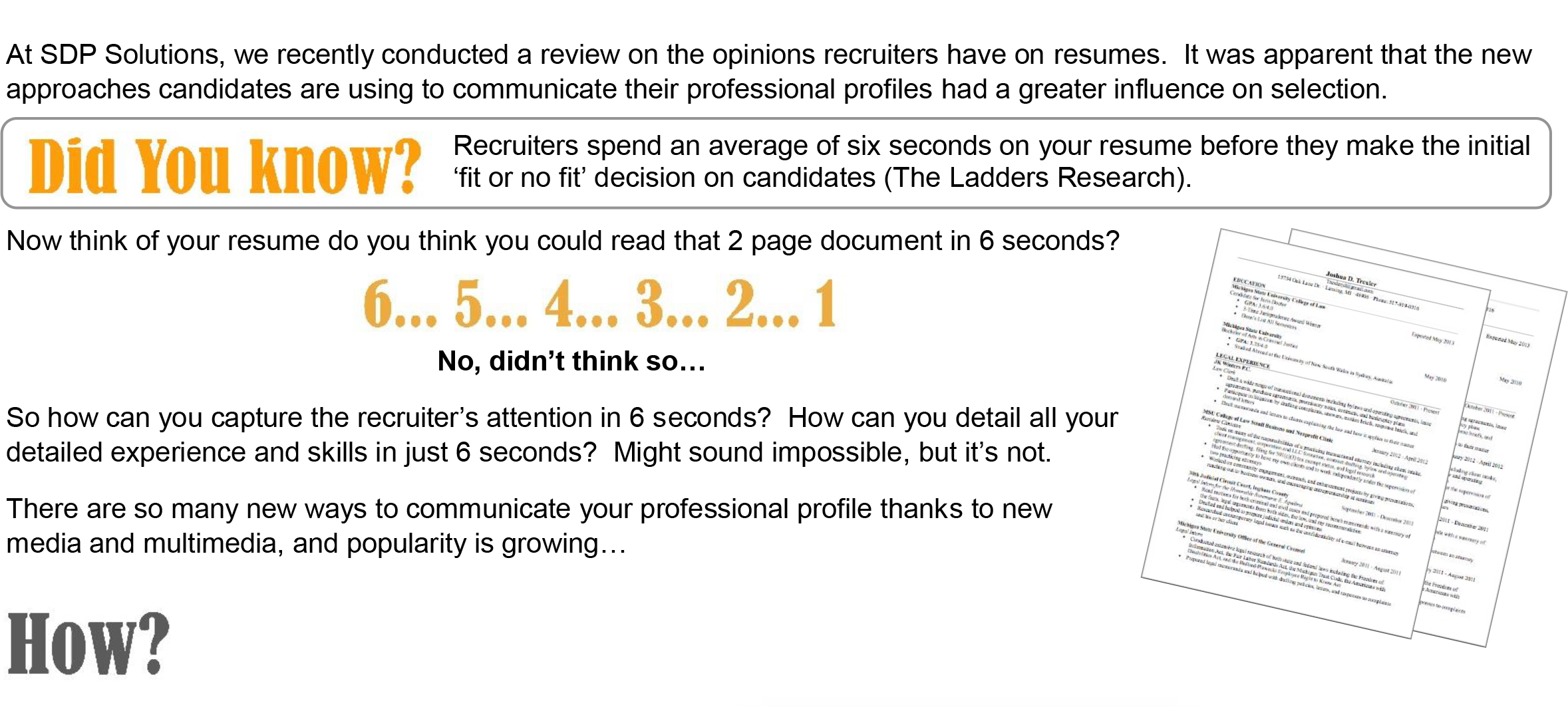 is it time to bid farewell to traditional resumes sdp solutions traditional cvs vs visual cvs